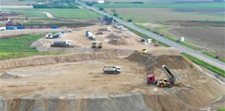 Progresul companiilor de construcții din luna noiembrie care lucrează la autostrăzile din România