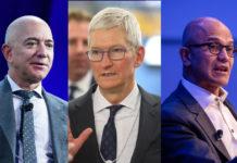 CEO-urile Amazon, Apple și Microsoft detaliază eforturile companiilor lor de combatere a pandemiei coronavirusului