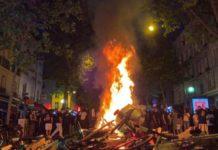Protestul împotriva brutalității poliției din Paris devine violent