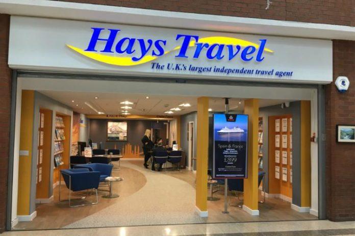 Hays Travel, agenție de turism din Marea Britanie, va cumpăra toate cele 55 de magazine a agenției de turism Thomas Cook