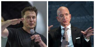 Musk râde de Bezos după ce SpaceX câștigă contractul lunii